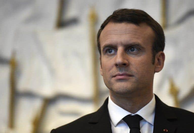 Macron en Afrique
