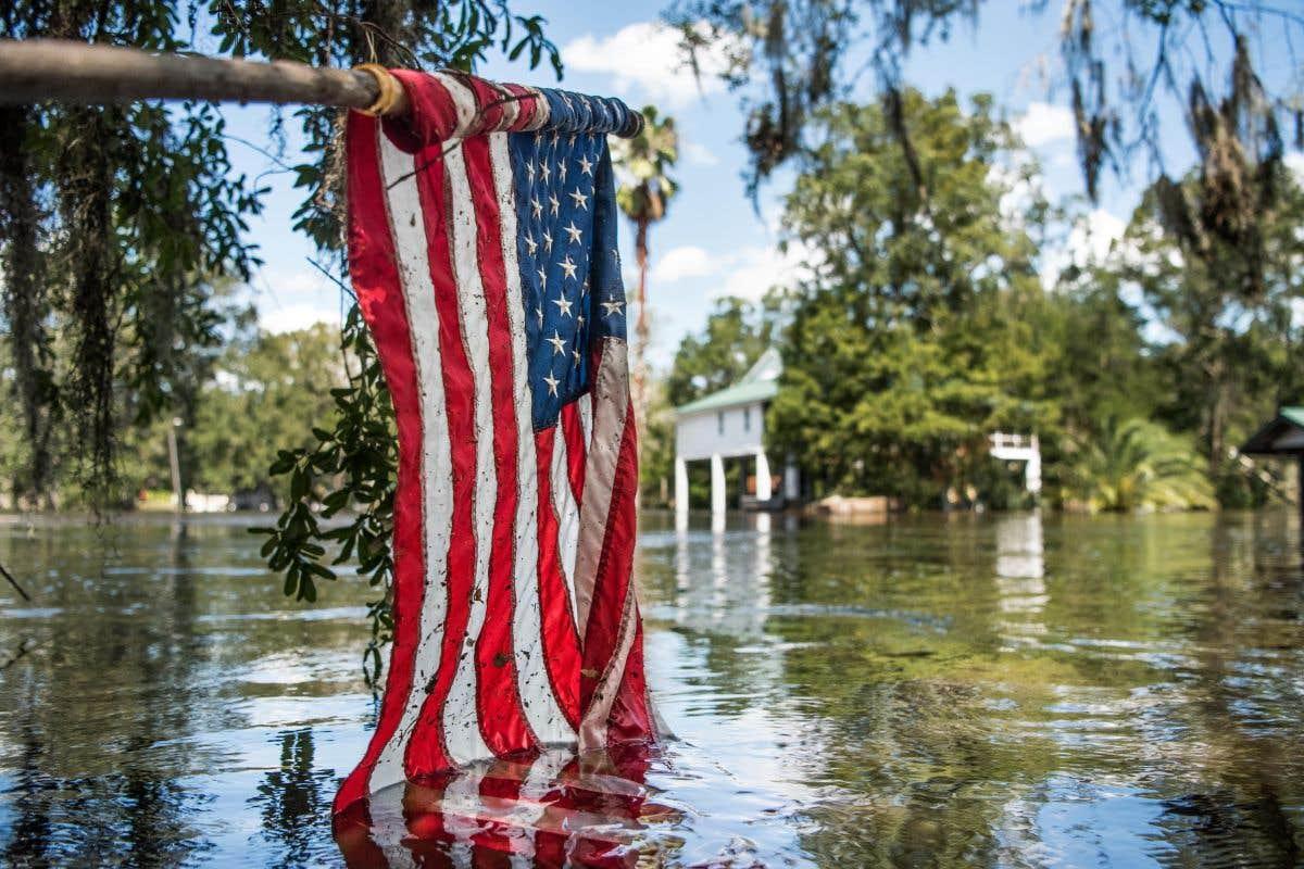 La visite du jour: Trump en Floride