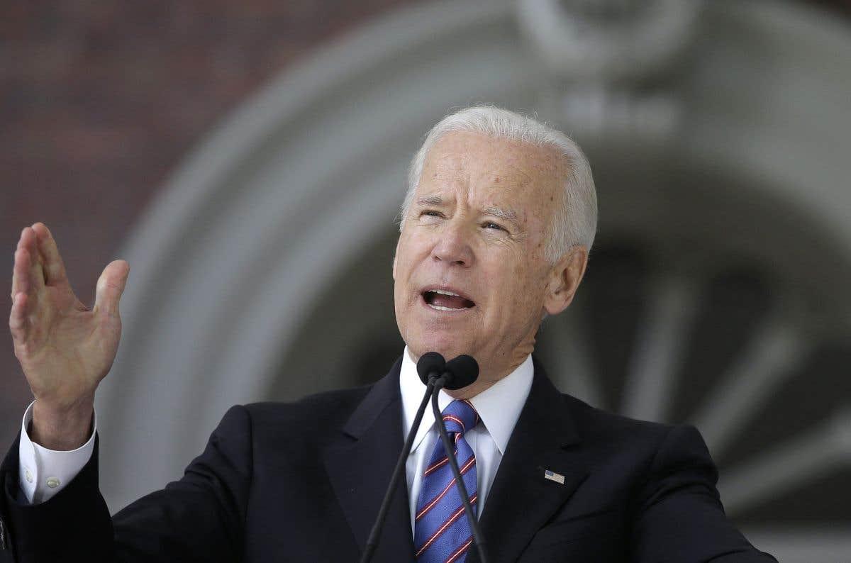 La sortie du jour: Joe Biden