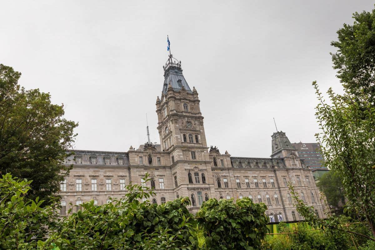 Sprint politique à Québec