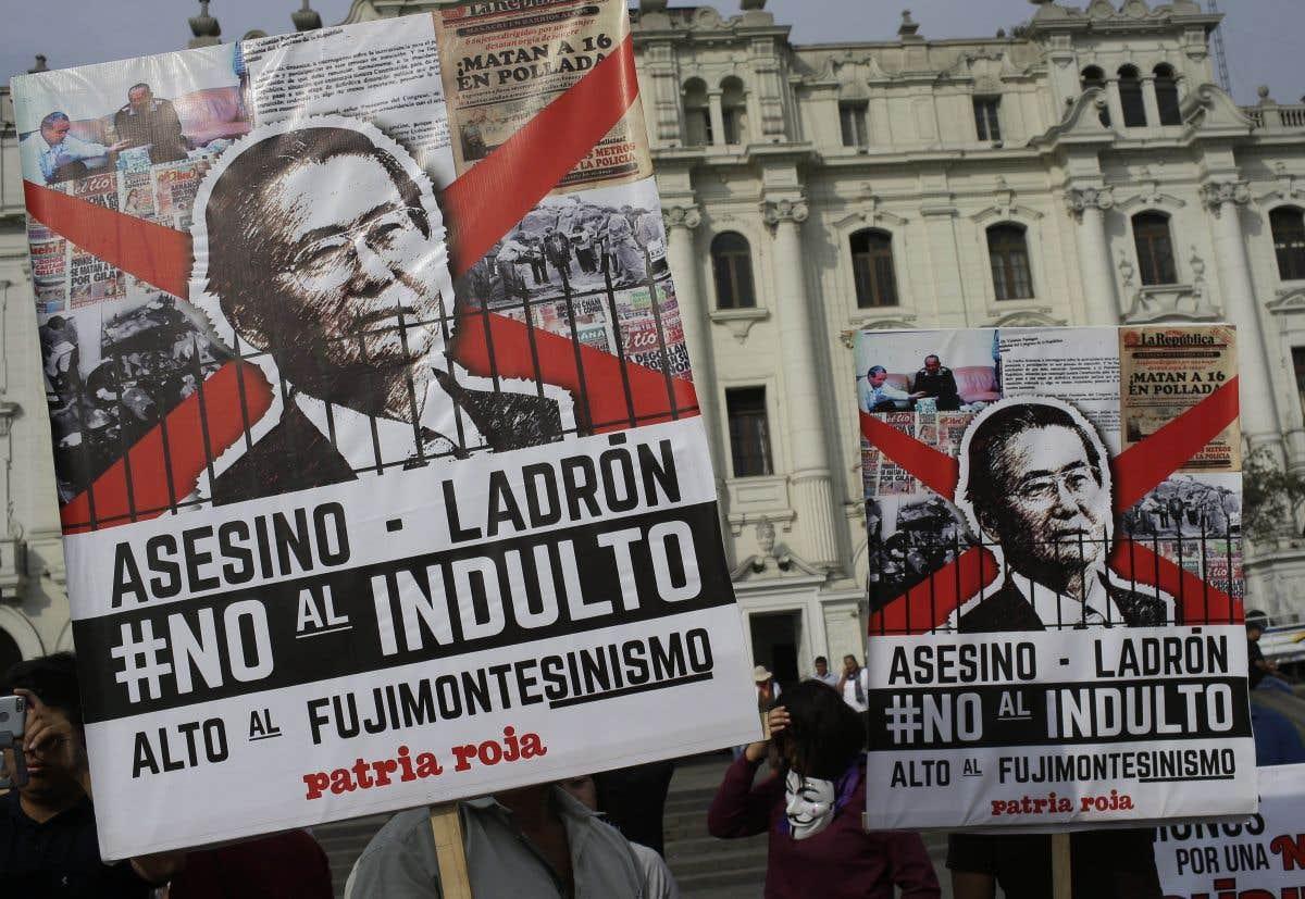 Le suivi du jour: Fujimori