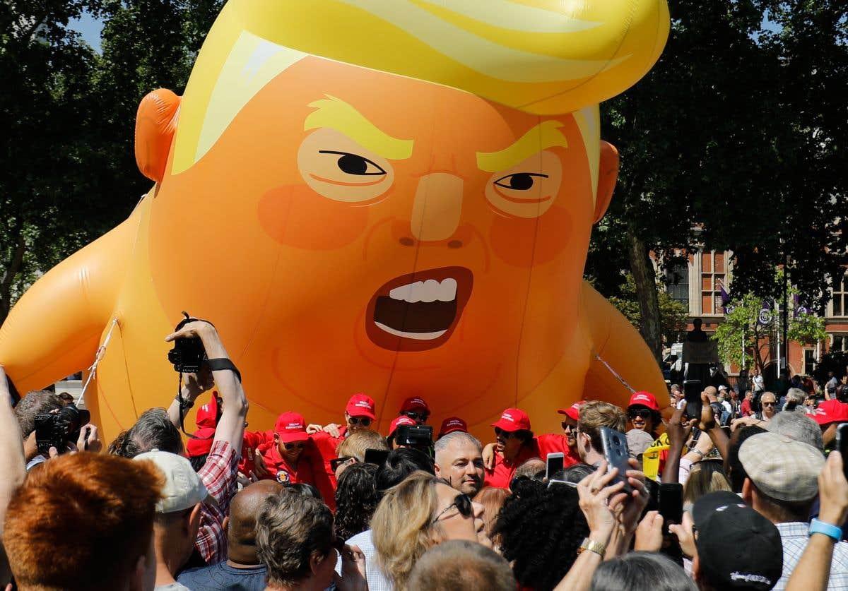 Sous les projecteurs : Trump