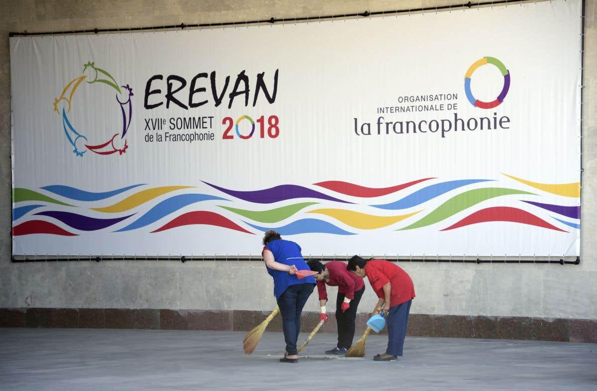 Le sommet du jour: Francophonie