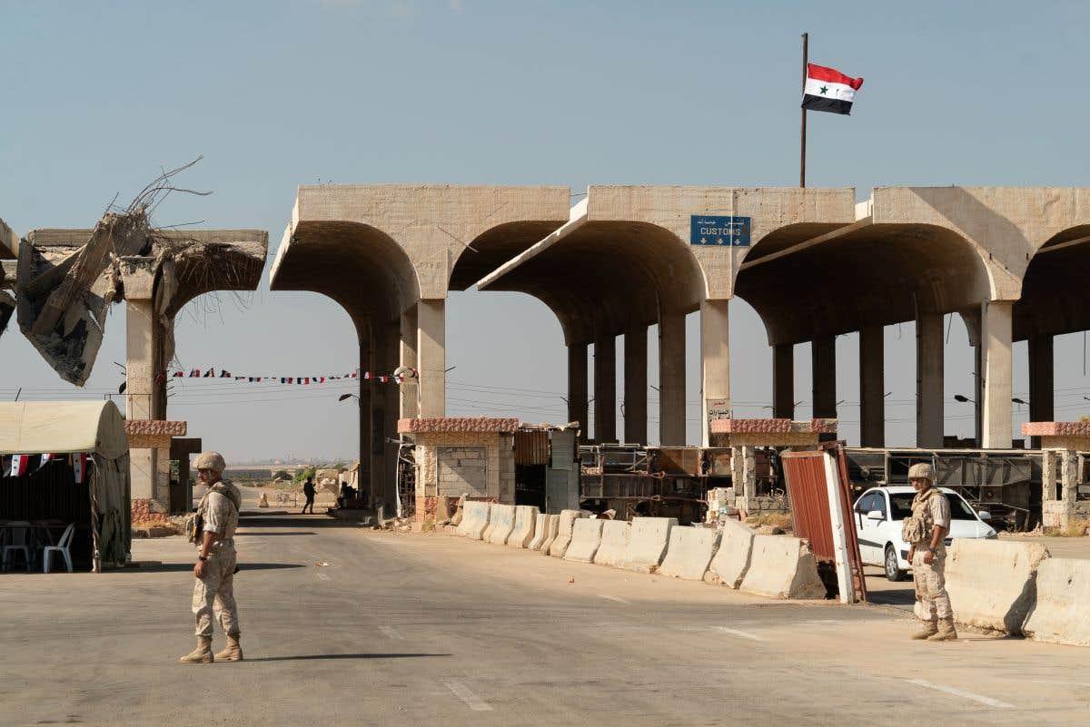 Ouverture entre la Syrie et la Jordanie