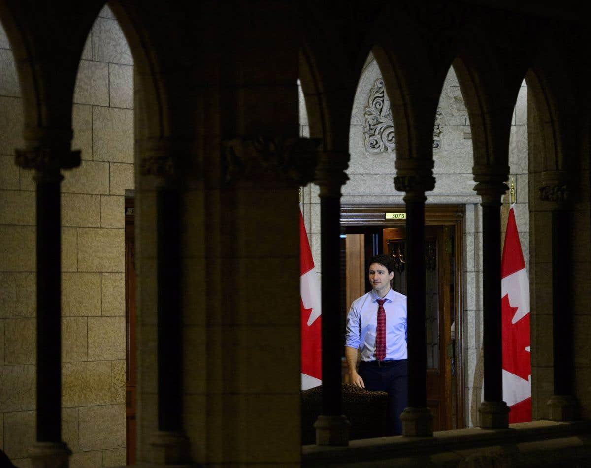 Fin d'année pour Justin Trudeau