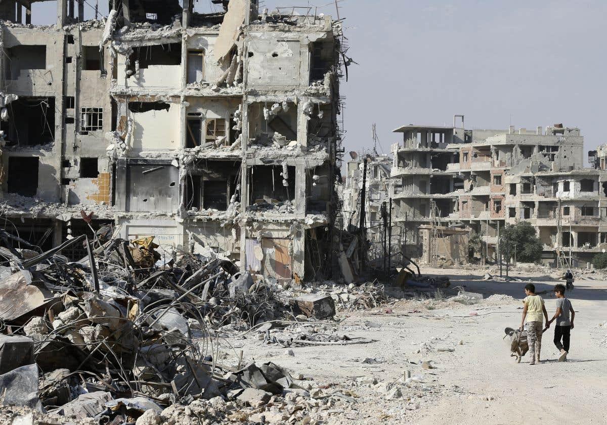 Huit ans de guerre en Syrie