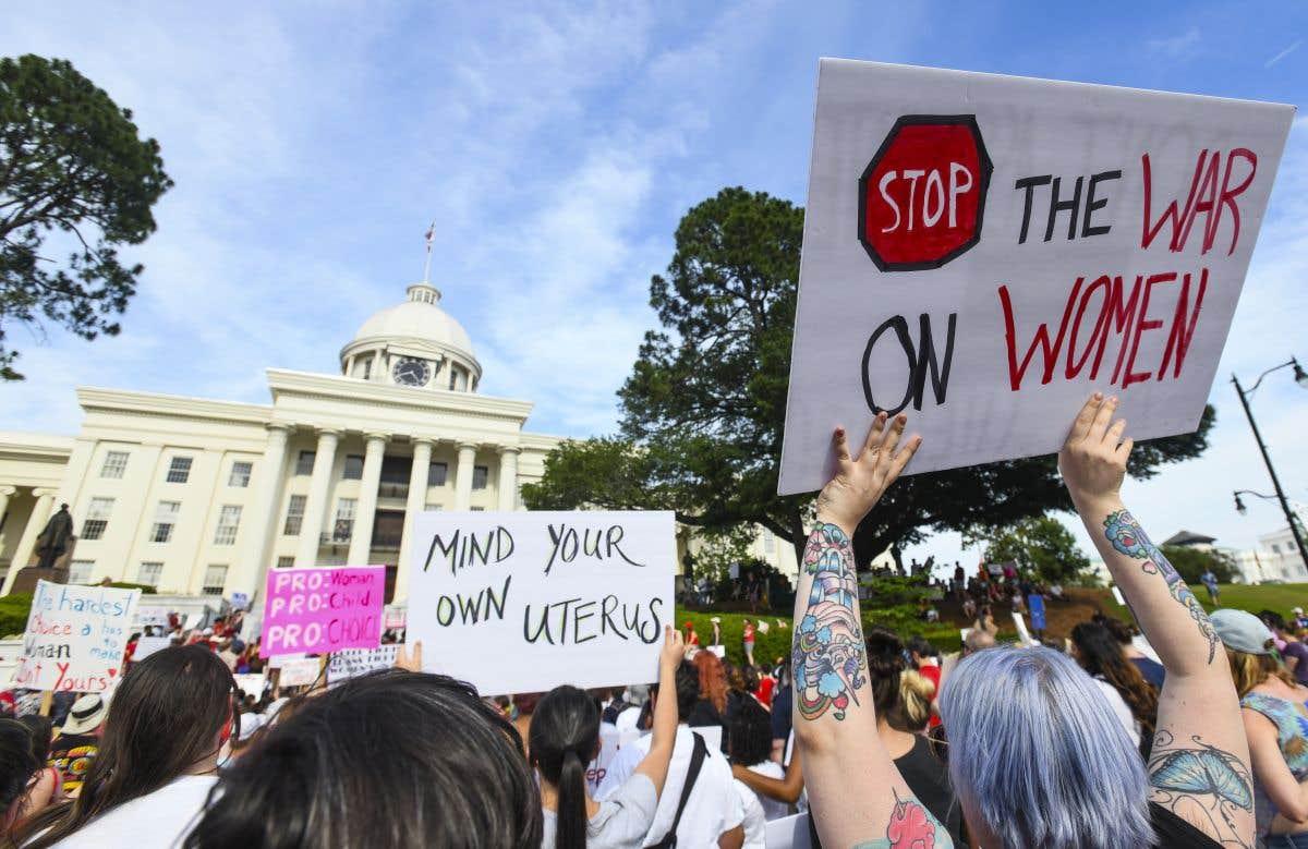 La bataille des pro et des anti-avortement