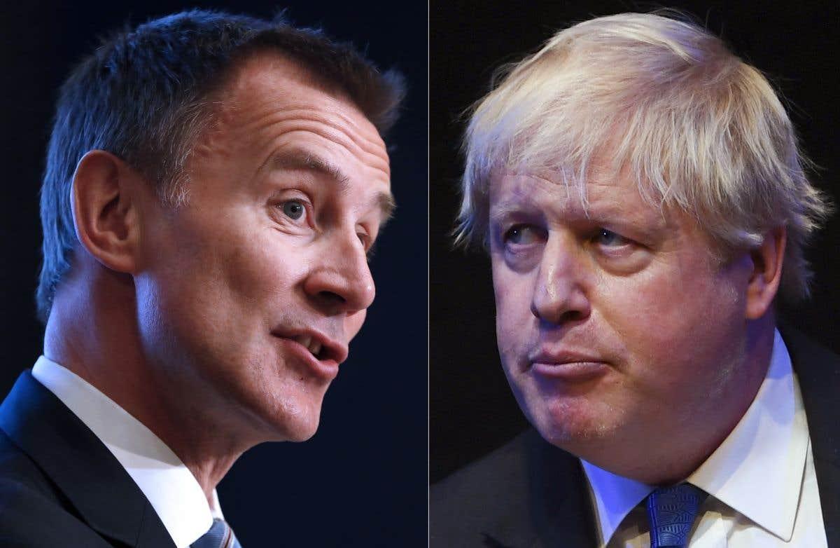 Sous les projecteurs: Boris Johnson ou Jeremy Hunt?