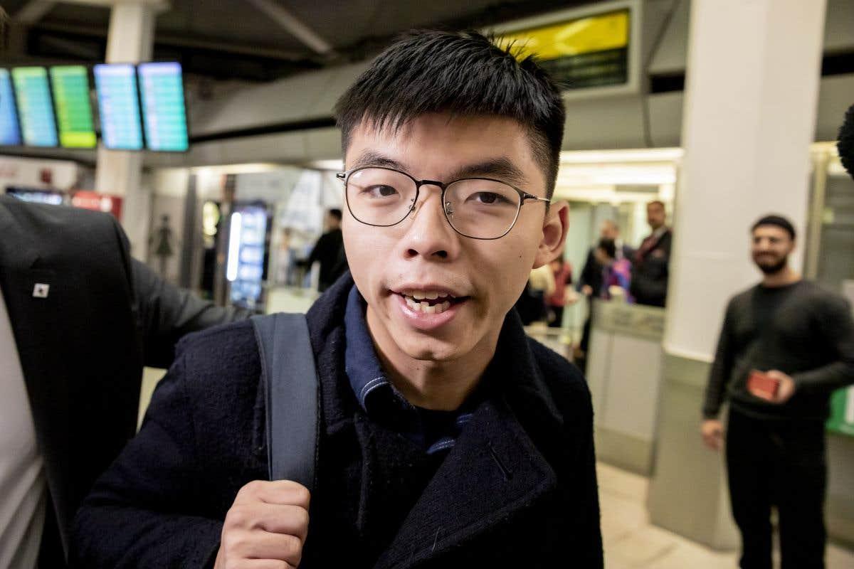 Joshua Wong à Berlin