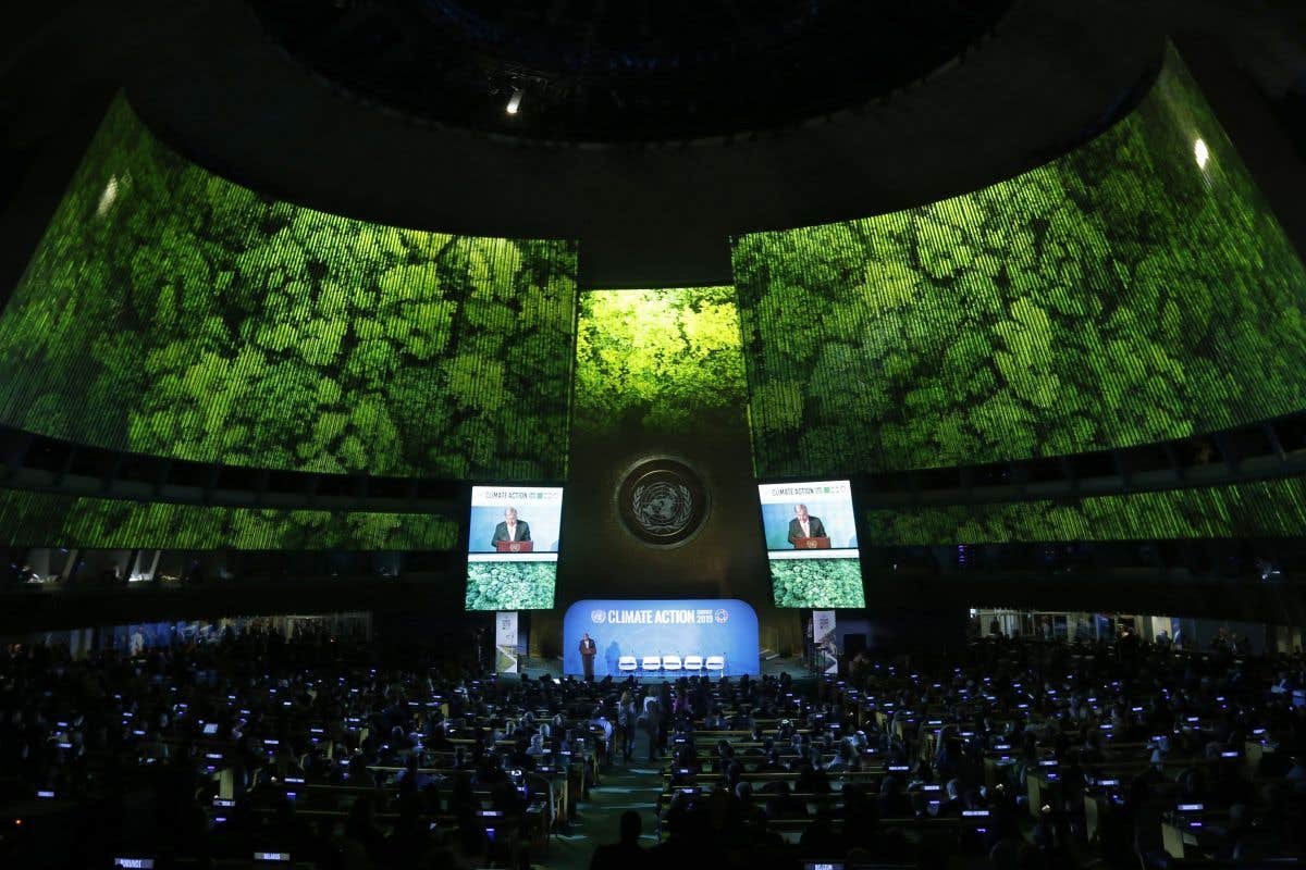 Ouverture des débats à l'ONU