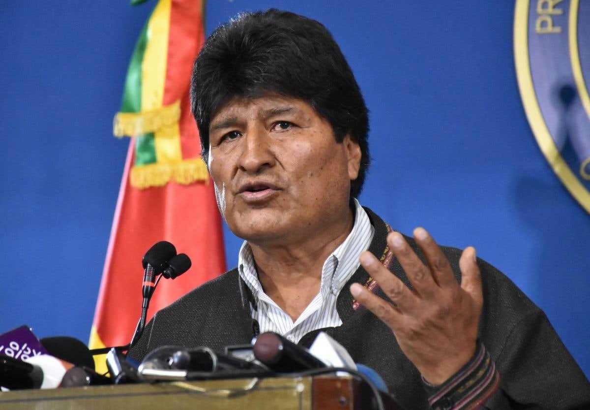 Morales s'envole vers le Mexique