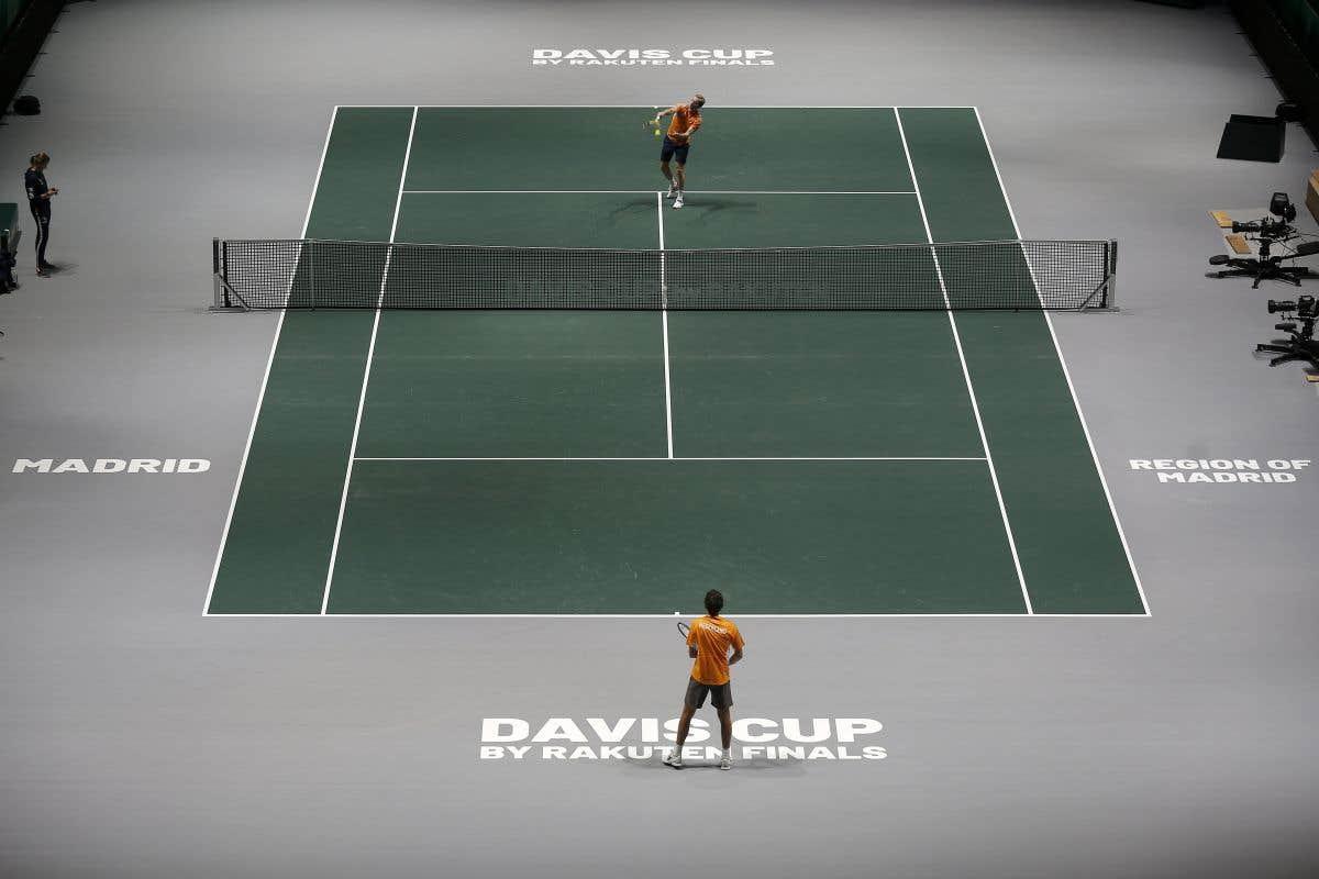Ouverture de la Coupe Davis