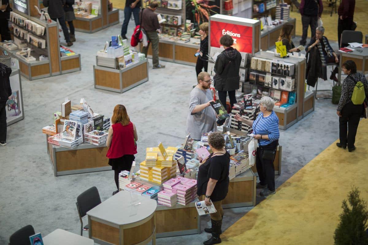 Ouverture du Salon du livre de Montréal