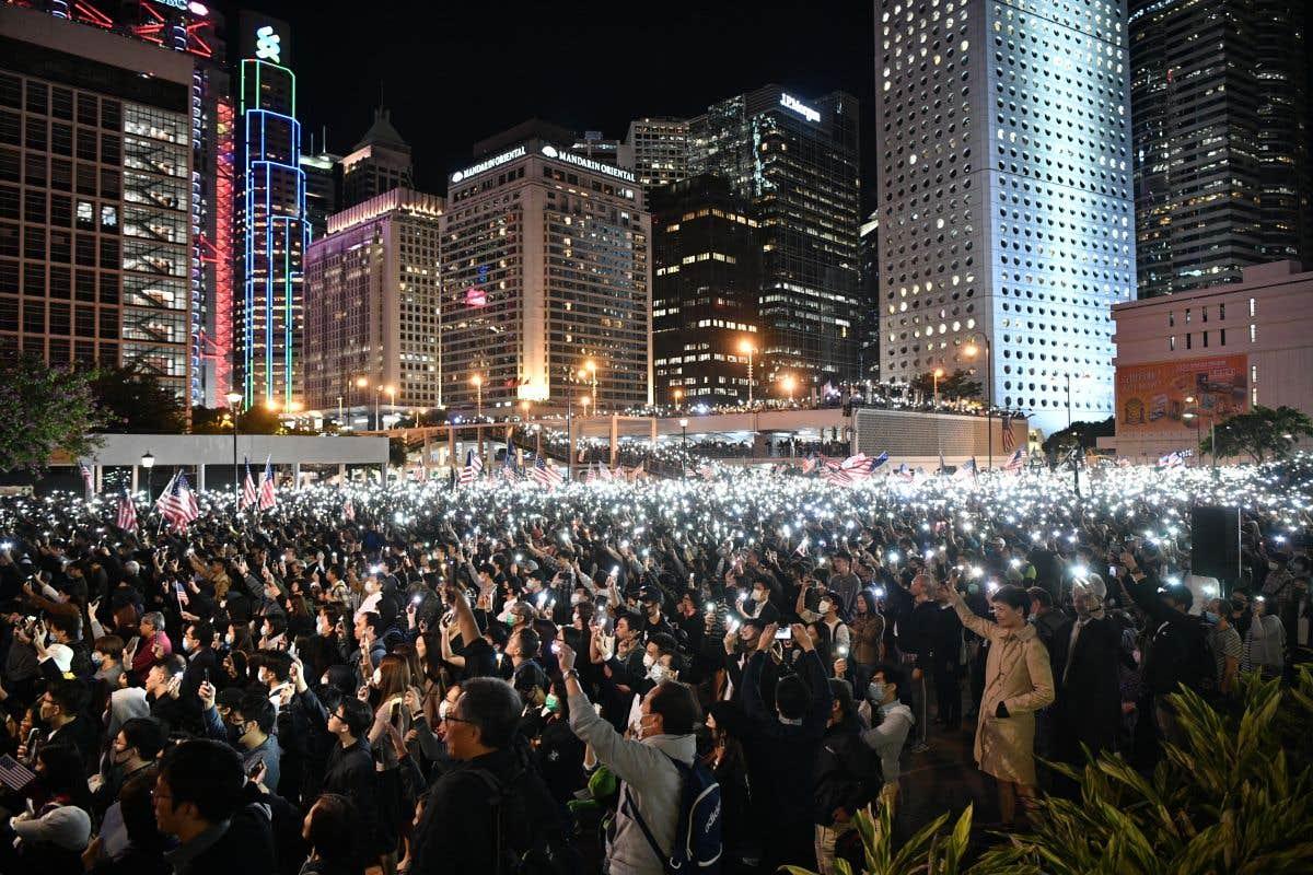 Un œil sur Hong Kong