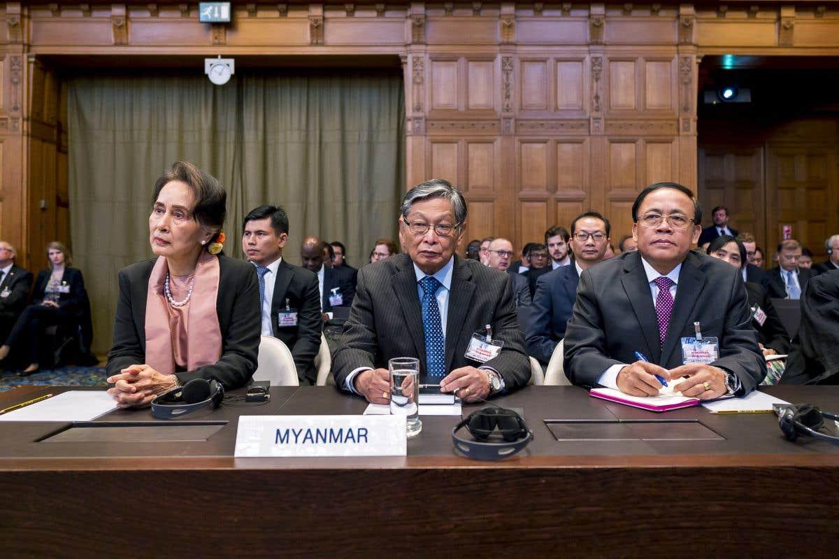 L'audience du jour: Aung San Suu Kyi
