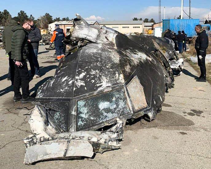 Le Canada aura accès aux boîtes noires du Boeing crashé à Téhéran