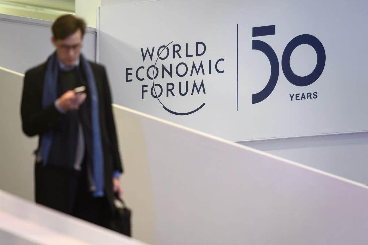 L'élite économique mondiale se rencontre à Davos