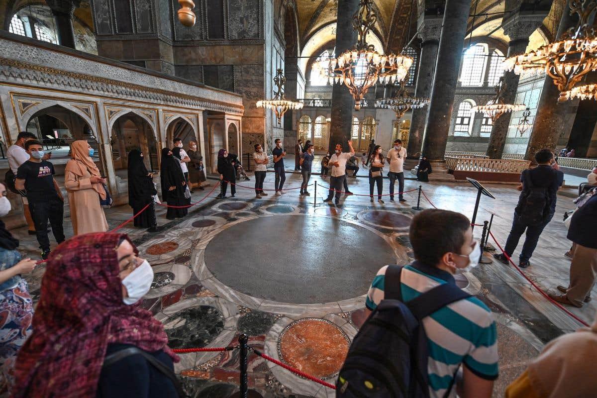 L'avenir de Sainte-Sophie d'Istanbul