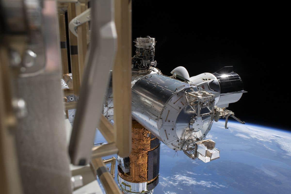 La capsule «Crew Dragon» revient sur Terre