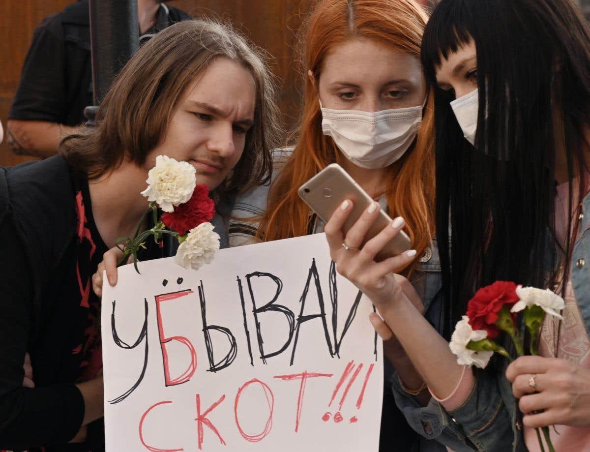 L'Ukraine à propos de la Biélorussie