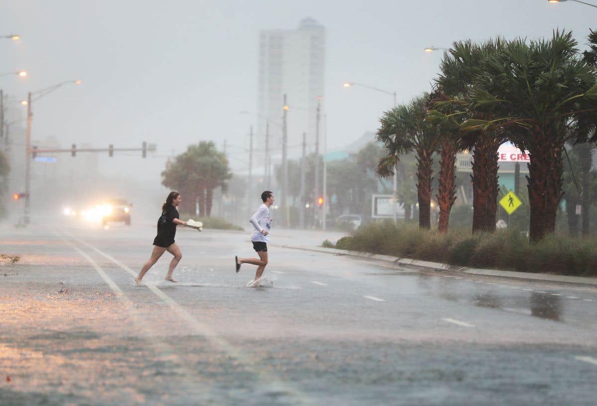 Le passage de l'ouragan «Sally» aux États-Unis