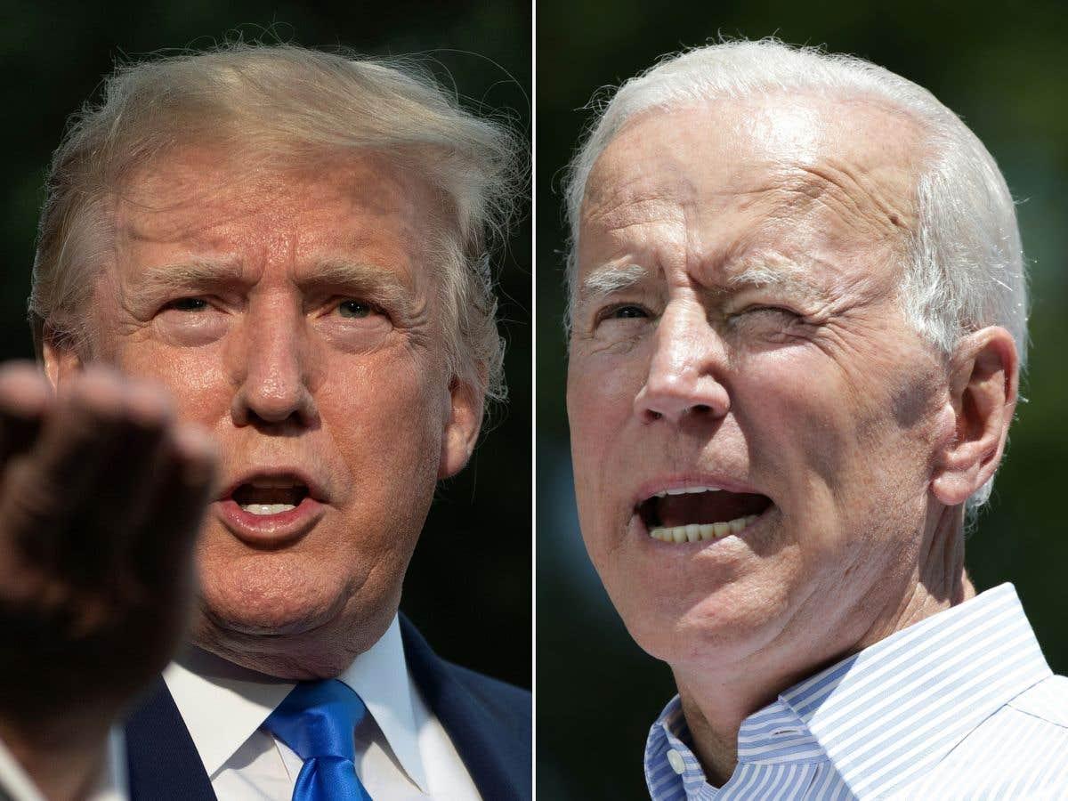 La rivalité Trump-Biden atteint de nouveaux sommets