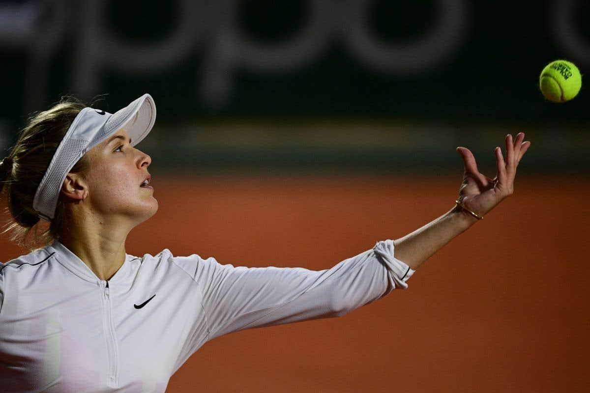 Eugenie Bouchard à Roland-Garros