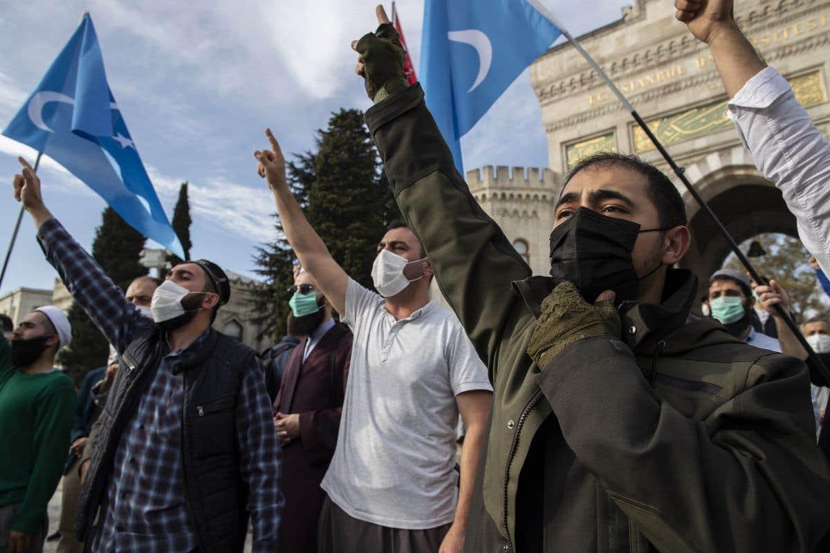 Des manifestationsanti-France dans le monde musulman