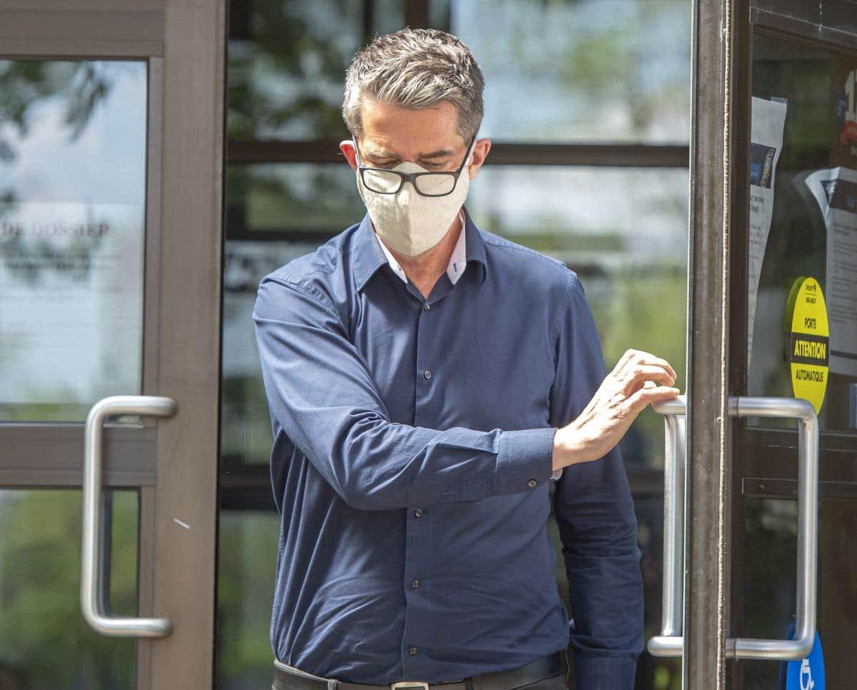 André Boisclair devant la cour