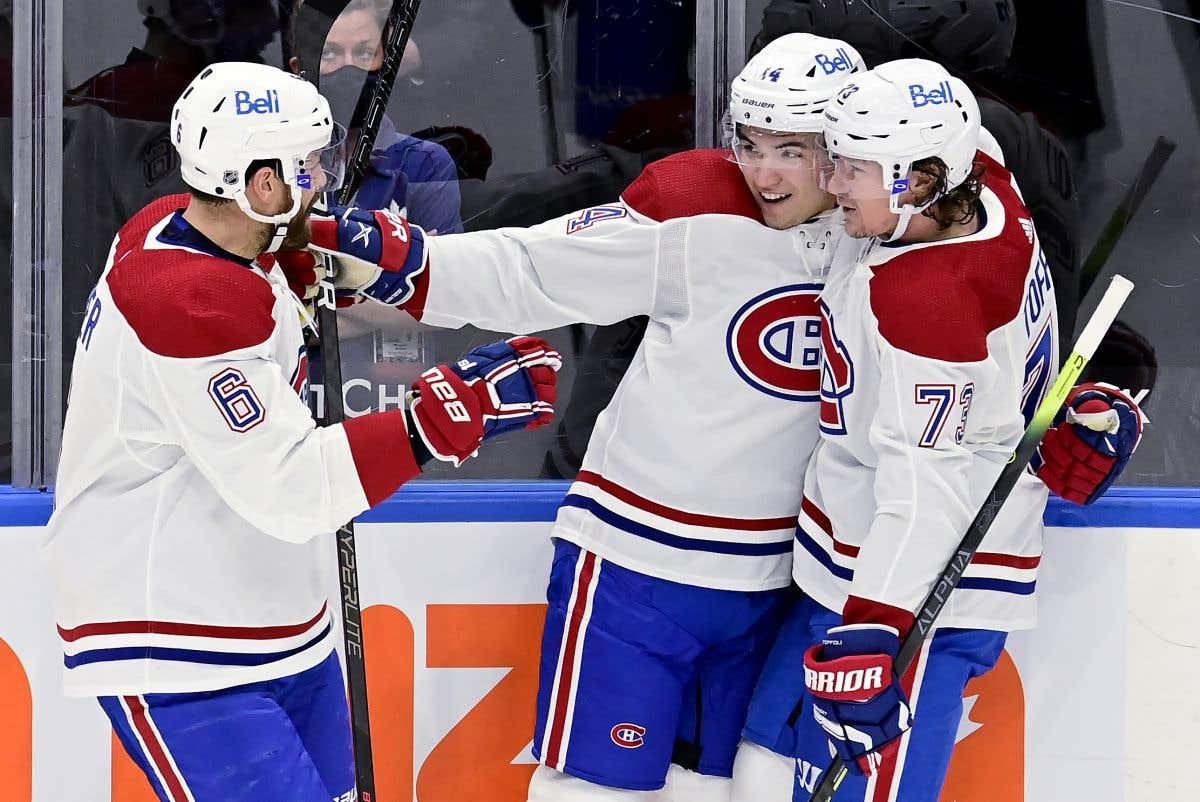 Le Canadien contre les Oilers