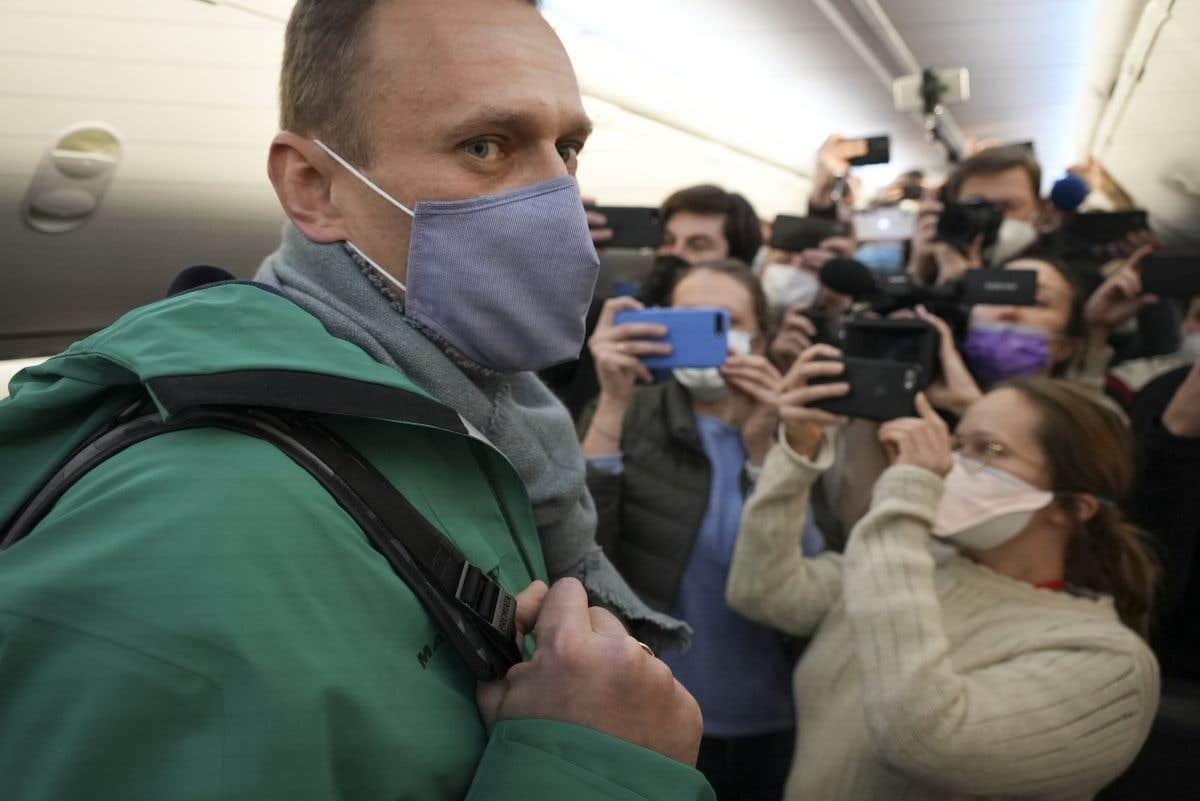 Alexeï Navalny de retour en Russie