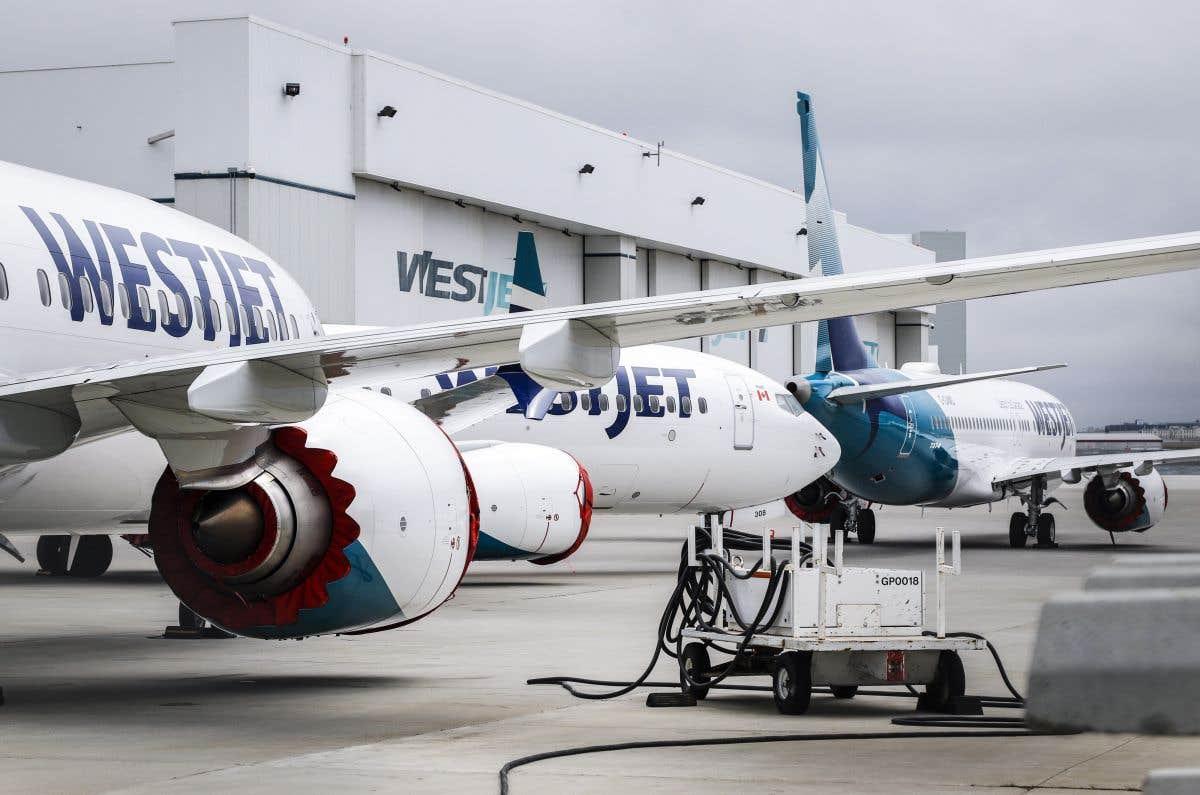 Un Boeing 737 MAX dans le ciel canadien