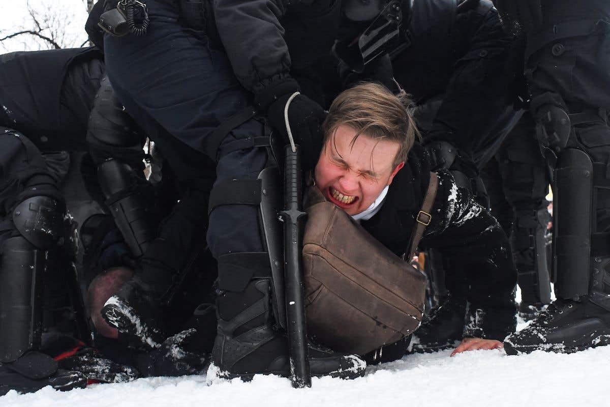 Des milliers d'arrestations en Russie