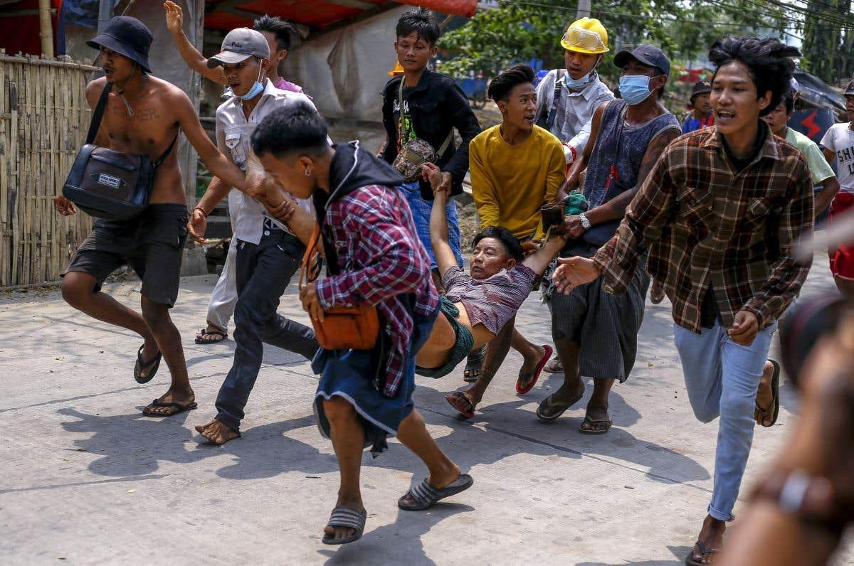« Bain de sang »au Myanmar