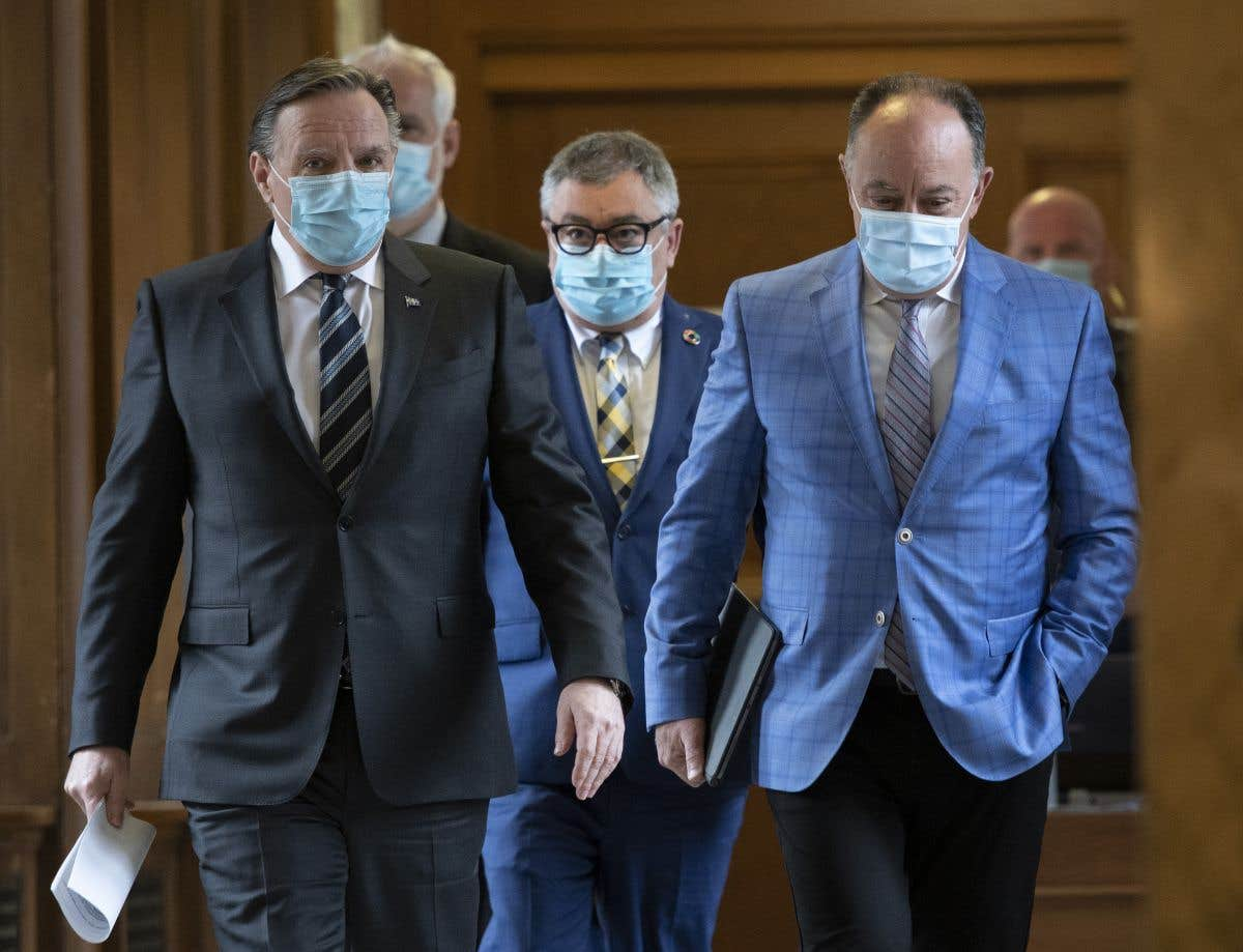 Conférence de presse du trio santé