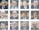 Les témoins de la commission Charbonneau