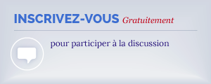 Inscrivez-vous pour participer à la discussion. C'est gratuit!