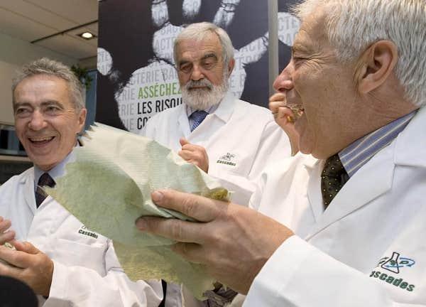 Laurent, Bernard et Alain Lemaire sont des pionniers chez Cascades de la récupération de vieilles matières réutilisables dans le secteur de Drummondville.