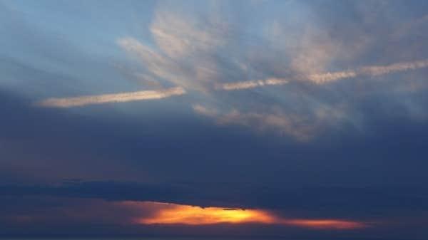 Coucher de soleil Sainte-Flavie