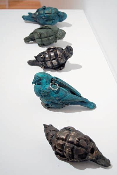 Maskull Lasserre, Grenade Birds (détail), 2013.