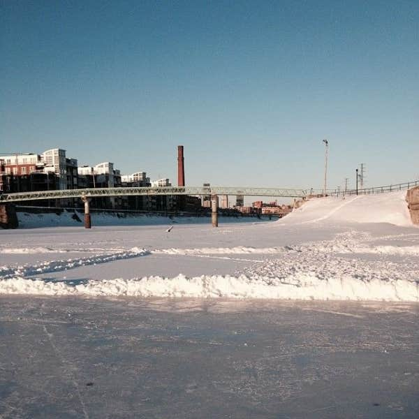 patinoire canal lachine