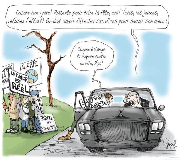 CARICATURES : politiques, judiciaires, sportives ... etc.    (suite 2) - Page 32 Le-coup-de-crayon-du-16-mars