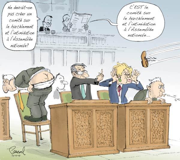 CARICATURES : politiques, judiciaires, sportives ... etc.    (suite 2) Le-coup-de-crayon-du-14-novembre