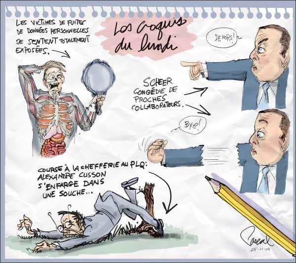 CARICATURES : politiques, judiciaires, sportives ... etc.    (suite 2) Le-coup-de-crayon-du-25-novembre