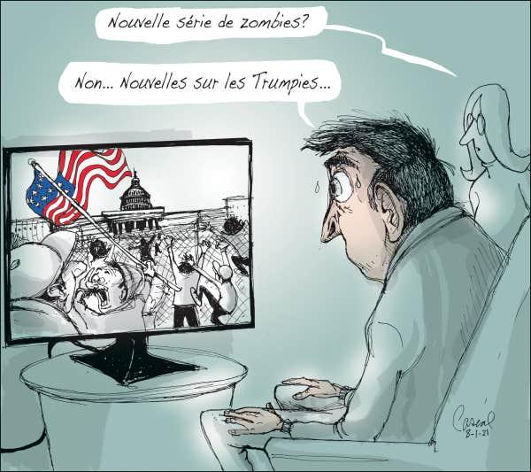 Le regard de notre caricaturistre Pascal sur l'actualité du jour.