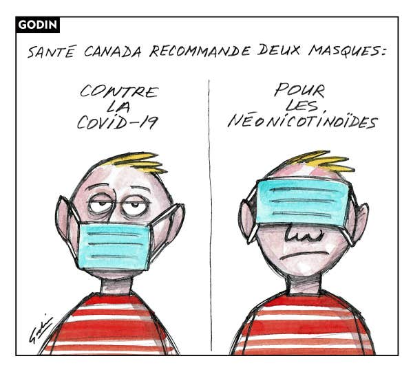Le regard de notre caricaturiste Godin sur l'actualité du jour.