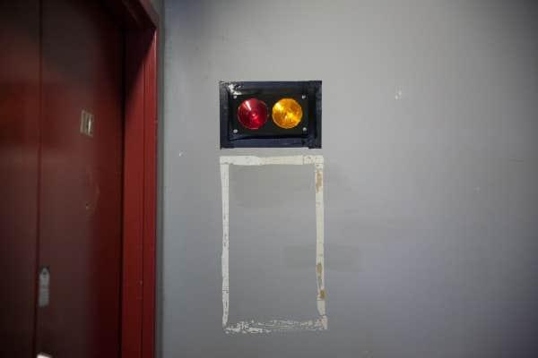 Ascenseur de «l'étage rouge»