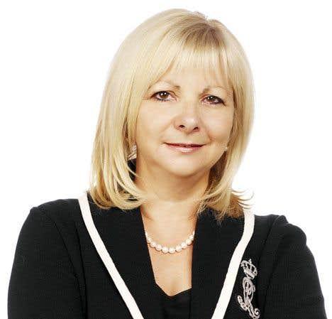 Josée Bouchard, la présidente de la Fédération des commissions scolaires du Québec