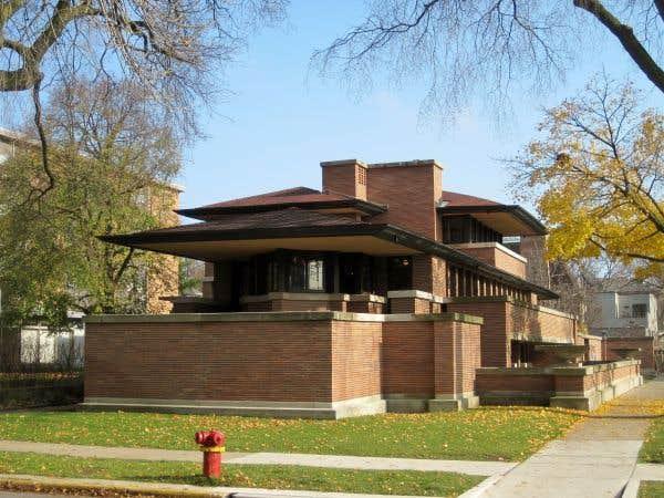 La maison Frederick C. Robie, Chicago, Illinois