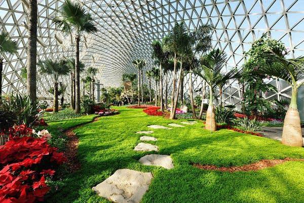 Le devoir for Camping le jardin botanique limeray
